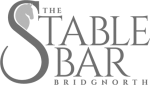 The Stable Bar Logo - Created by Promofix Bridgnorth
