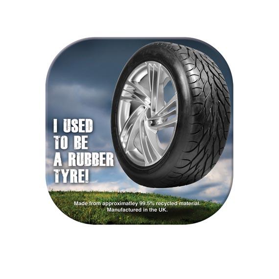 Brite-Mat Tyre Coasters