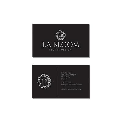 La Bloom Business Cards