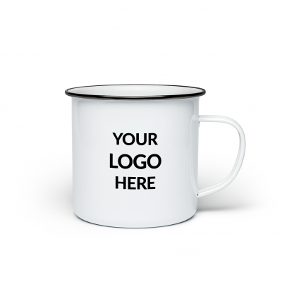 Your Logo Here - Enamel