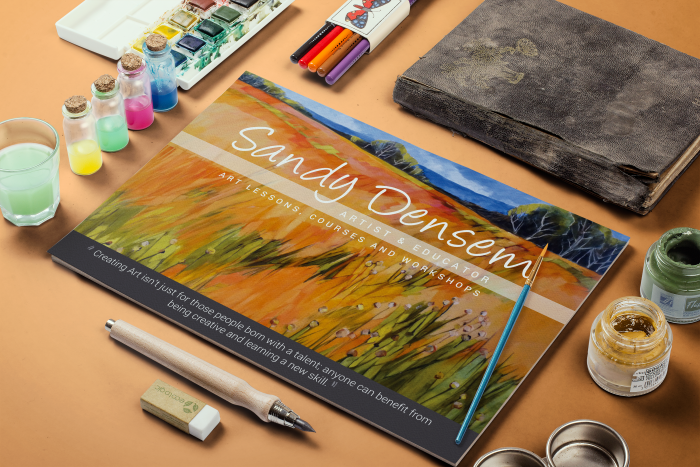 Sandy Densem Art - Graphic Design By Promofix