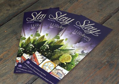 Promotional Leaflets - Designed by Promofix